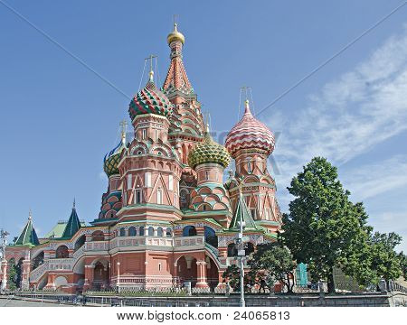 Saint Basil's Cathedral Of Moscow