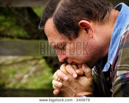 Man In Prayer