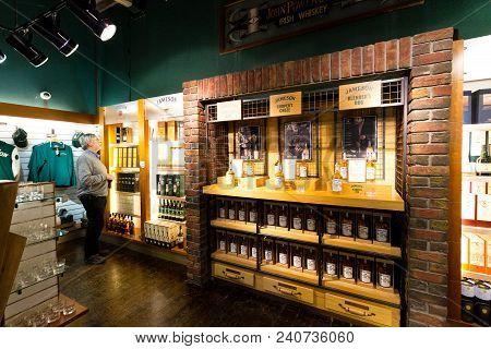 April 15th, 2018, Distillers Walk, Midleton, Co Cork, Ireland - Jameson Experience, An Irish Whiskey