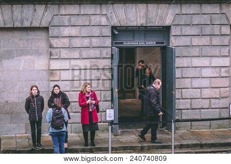 April 12th, 2018, Dublin Ireland - Kilmainham Gaol, A Former Prison In Kilmainham, Dublin, Ireland.