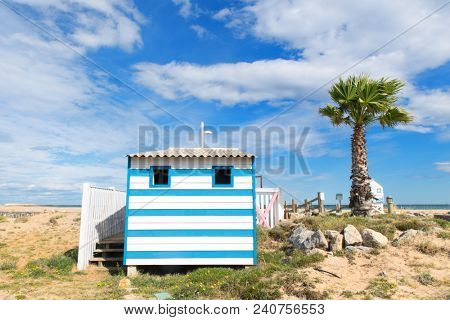 Village Gruissan plage in French languedoc-Roussillon