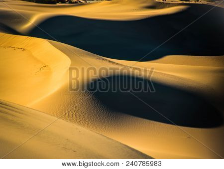 A Walk On The Wild Side, Mesquite Flats Sand Dunes, Death Valley National Park, California
