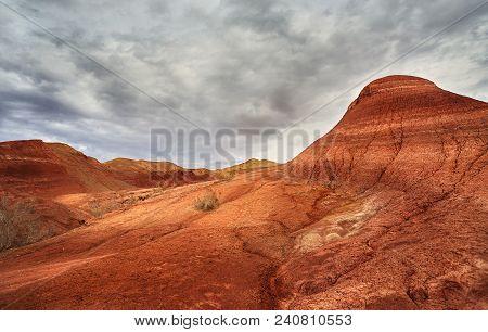 Red Desert Mountains