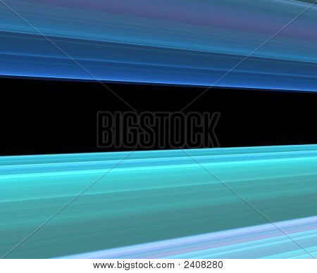 Blue Background With Black Copy Space