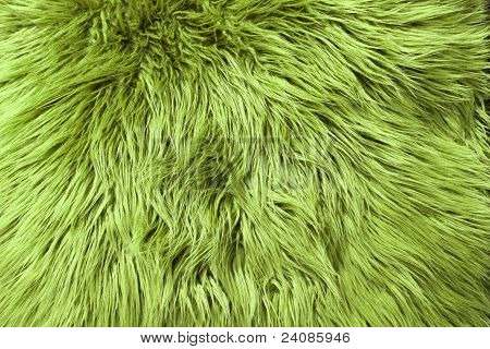 Green Fur Background