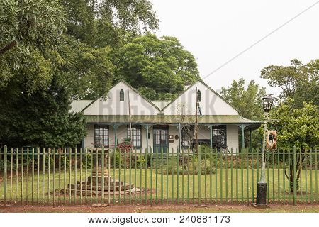 Greytown, South Africa - March 22, 2018: The Museum, Built In The Historic Drostdy, In Greytown In T