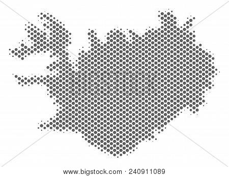 Schematic Iceland Map Vector & Photo (Free Trial) | Bigstock