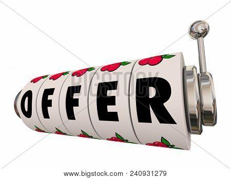 Offer Job Opportunity Price Negotiation 3d Render Illustration