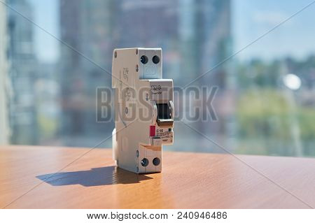 On The Table There Is An Automatic Switch Of Differential Current In A Compact Design. The Device Pr