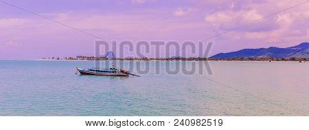 A Very Beautiful Panorama View Of Ko Yao Yai, Phang-nga Islands, South Of Thailand
