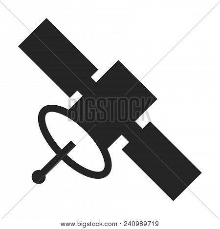 Satellite Icon Isolated On White Background. Satellite Icon Modern Symbol For Graphic And Web Design