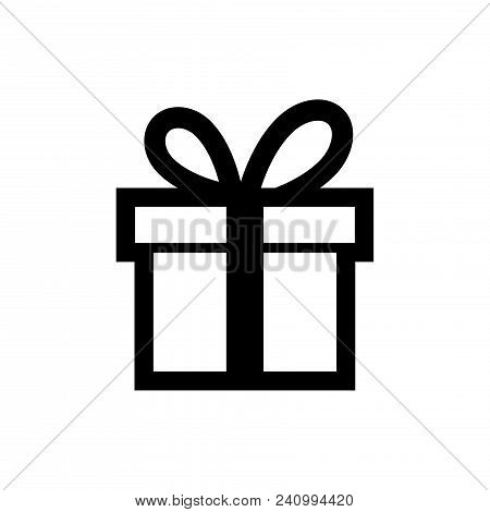 Gift Box Icon Vector In Modern Flat Style For Web, Graphic And Mobile Design. Gift Box Icon Vector I