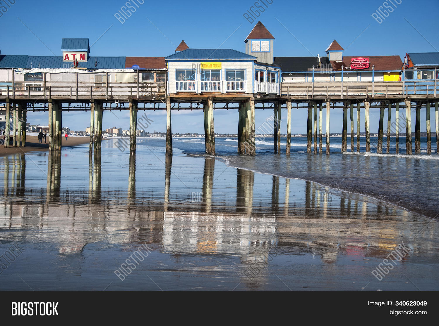 Old Orchard Beach Image Photo Free