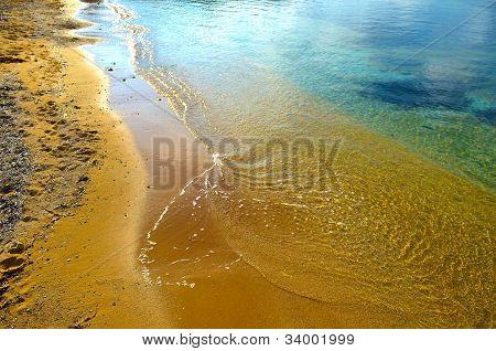Orange Sands In Gnejna Bay - Malta