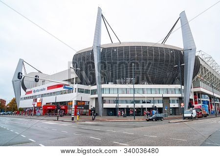 Eindhoven, Netherlands - 11.10.2019: Philips Stadion Is A Football Stadium In Eindhoven, Netherlands