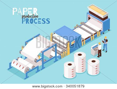 Paper Manufacturing From Woods Pulp Automated Operator Controlled Process Drying Sheet Forming Machi