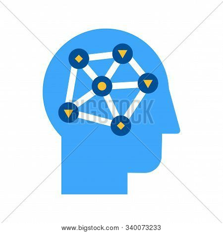 Data Analysis, Analytical Research Flat Vector Icon