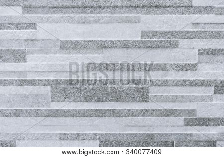 Gray Porcelain Tiles. Background And Texture Of Porcelain Tile.