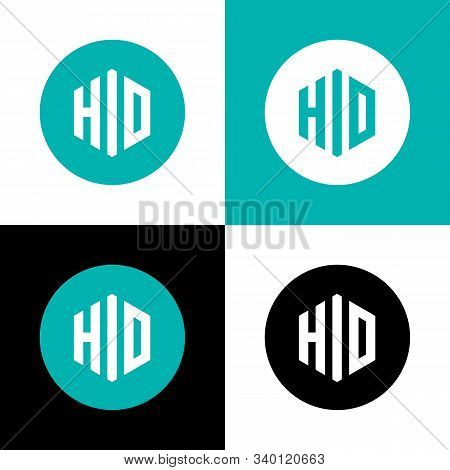 Hid Logo Vector Icon Template, Simple Logotype Design