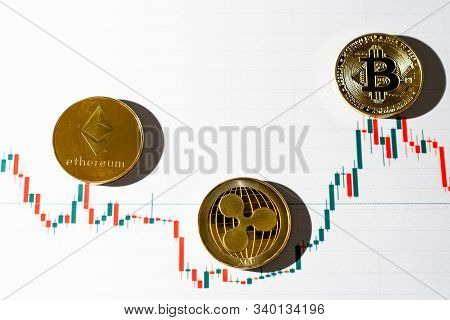 Cryptocurrency Trading. Cryptocurrency Chart. New World Currency.