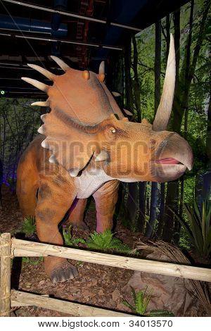 Styracosaurus, ceratopsian dinosaur