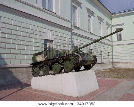Asu-57 Soviet Assault Gun