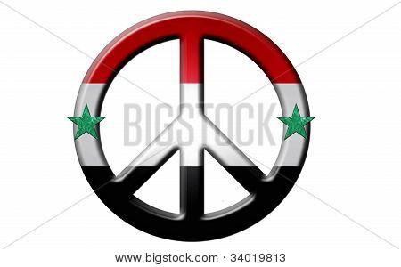 Syrian Peace Symbol
