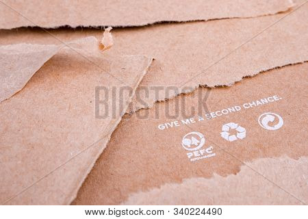 Wastepaper Background. Reuse Background. Words On Craft Paper. Give Me A Second Chance. World Resour
