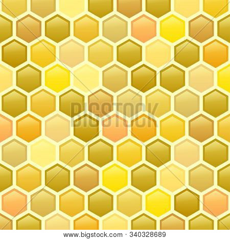A Tasty  Abstract Geometric Honeycomb Background Pattern.