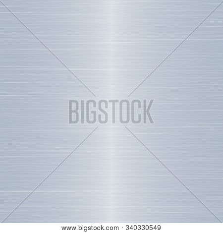 Simple Background Texture Resembling Stainless Steel Or Silver Metal.