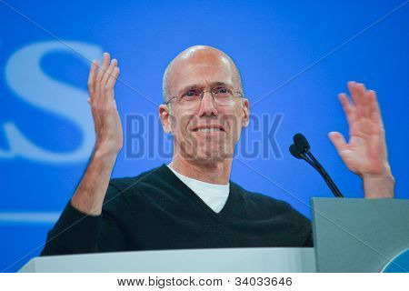 Las Vegas, Nv - June 5, 2012: Dreamworks Animation Chief Executive Officer Jeffrey Katzenberg Delive