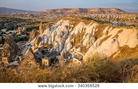 Turkey Landscape Of Goreme View Form The Mountain At Goreme Cappadocia