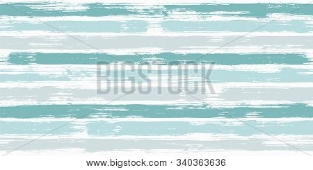 Retro Watercolor Brush Stripes Seamless Pattern. And Paintbrush Lines Horizontal Seamless Texture Fo