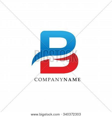 Initial Letter B Lettermark Logo