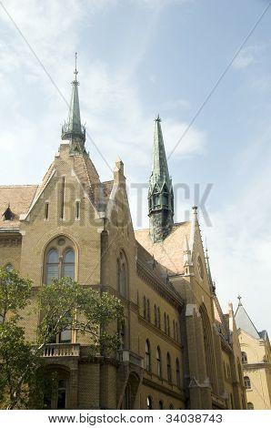 Unitarius Templom Unitarian Church Budapest Hungary