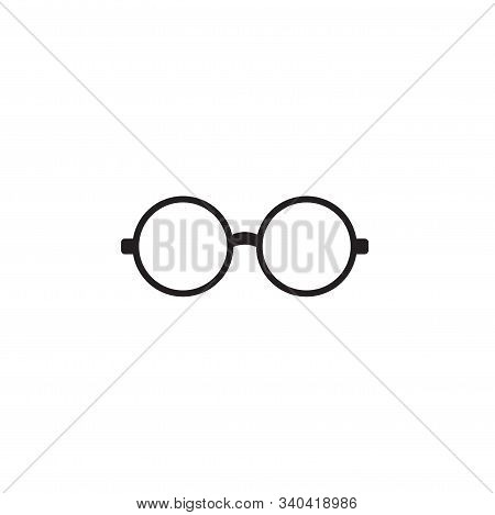 Eyeglasses Vector Icon. Lined Flat Sign For Mobile Concept And Web Design. Eyeglasses Glyph Icon. Sy