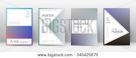 Flyer Layout. Stylish Tempting Template For Brochure, Annual Report, Magazine, Poster, Corporate Pre