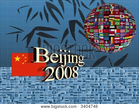 At Beijing In China 2008
