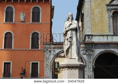 Dante in Italy's Verona