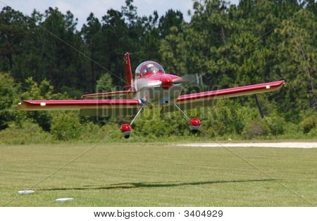Low Pass Over The Grass