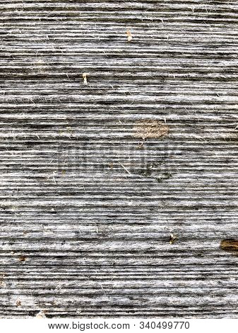 Background Pronounced Wood Grain On Old Wooden Building