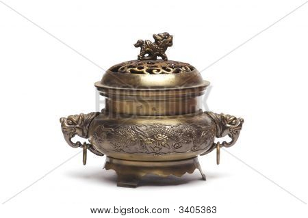 Ancient Bronze Incense Burner