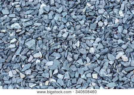 Black Small Road Stone Background, Dark Gravel Pebbles Stone Texture Seamless Texture, Granite,marbl