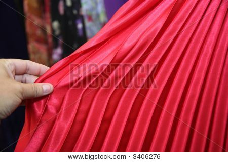 Pleated Material
