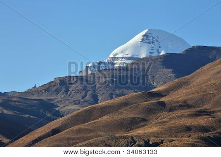 Holy Mount Kailash in Tibet poster