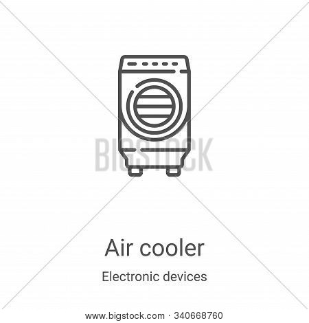 air cooler icon isolated on white background from electronic devices collection. air cooler icon tre