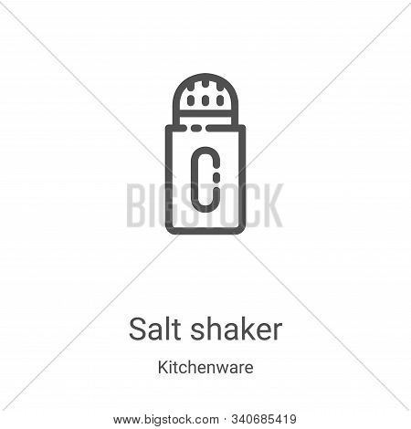 salt shaker icon isolated on white background from kitchenware collection. salt shaker icon trendy a