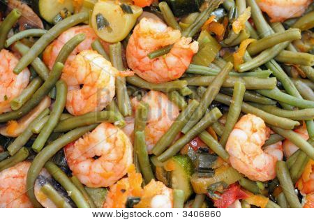 Shrimp Background