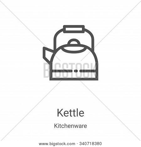 kettle icon isolated on white background from kitchenware collection. kettle icon trendy and modern