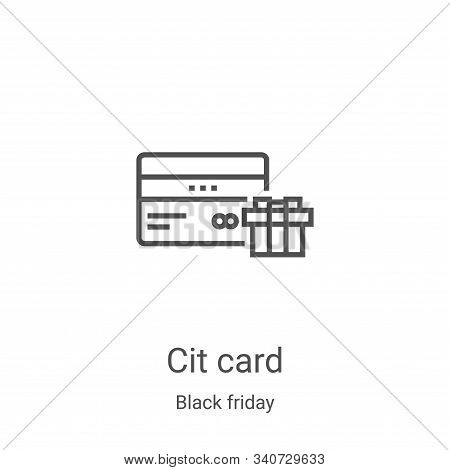 credit card icon isolated on white background from black friday collection. credit card icon trendy